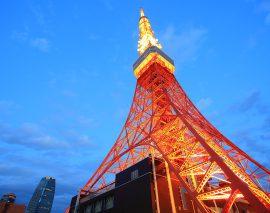 イルミが映える!!東京タワー