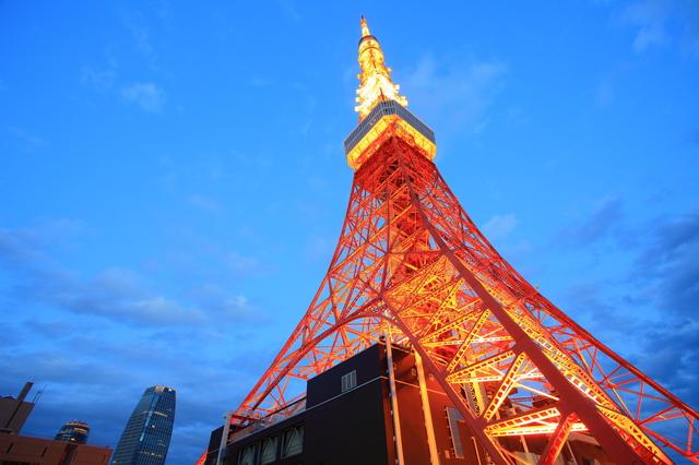 东京塔——东京的标志性建筑