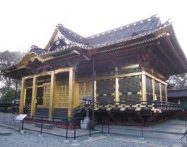 上野东照宫——品味江户建筑